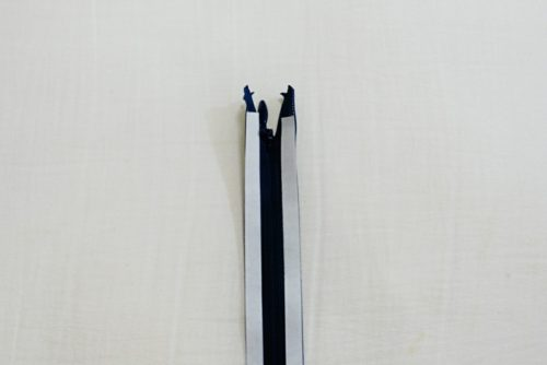 clover水溶性両面接着テープとコンシールファスナー