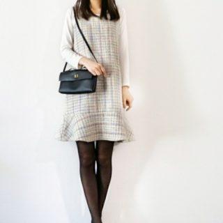 裾フリルのジャンパースカート作りました♪フリルの製図について。