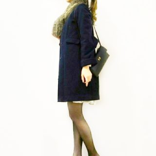 笹原のりこさん「さり気なく甘い服」よりコート作りました