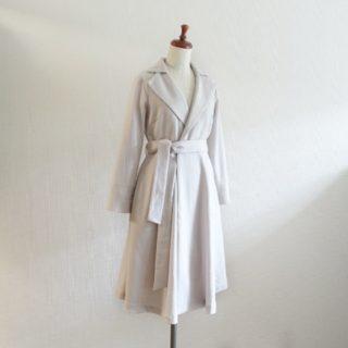鈴木圭さん「3つのシルエットで作る「羽織れる」コートドレス」よりスプリングコート作りました