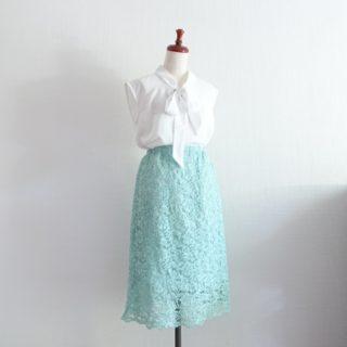 台形ゴムスカートの型紙とざっくりとした作り方