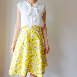 中野ユカリさん「大人にいい服」リボンつきブラウス作りました