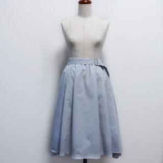 クルール「明日着る服」よりミモレ丈スカート作りました