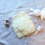 ベビーベストを手作りしました!かぎ針編み楽しい♪